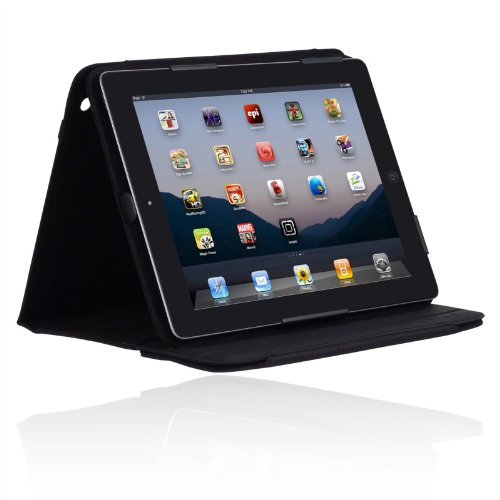 d9d1febe971 Incipio iPad 2 Premium Kickstand Case - Black Nylon Reviews! - nghi942
