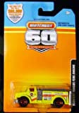 2013 Matchbox 60th Anniversary(Limited Edition) Highway Rescue Fire Engine