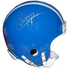 Sonny Jurgensen Autographed Hand Signed Duke Blue Devils Throwback Mini Helmet
