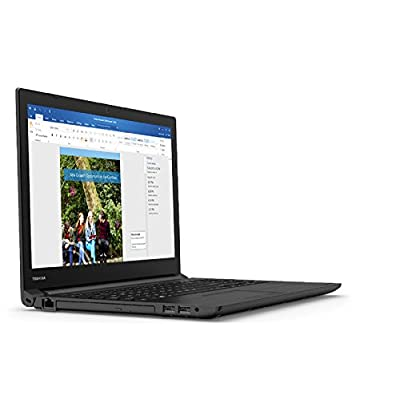 Toshiba Tecra C50-C I0100 15.6-inch Laptop (Core i3-5005U/4GB/1TB/Intel HD Graphics), Carbon Black