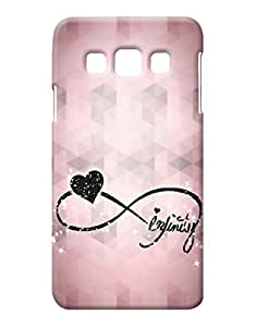 Pick Pattern Back Cover for Samsung Galaxy A3 SM-A300HZWDINS/INU