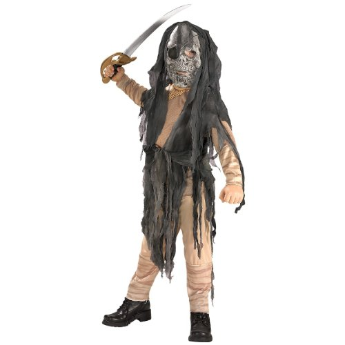 Rubies Halloween Concepts Children's Costumes Ghostship Pirate - Large