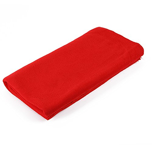 80X140Cm Microfibre Sports Travel Gym Fitness Beach Swim Camping Bath Towel (Red) front-796867