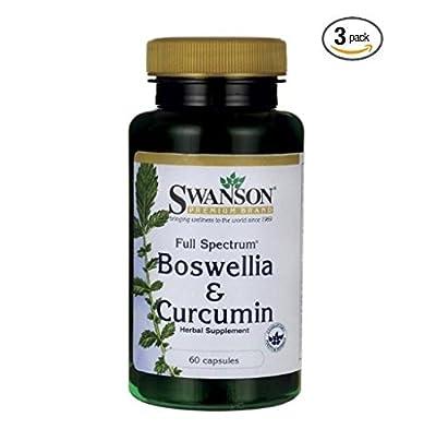 Swanson Full Spectrum Boswellia and Curcumin 60 Caps