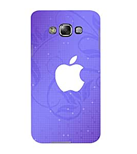 Mental Mind 3D Printed Plastic Back Cover For Samsung Galaxy E7- 3DSAME7-G420