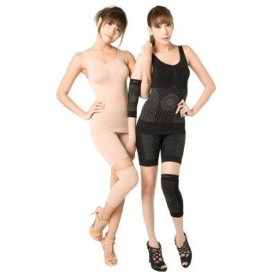 Onami Zomato Body Slimming Suit Double & Bigger Dots Set Body Shapewear (Black Color)