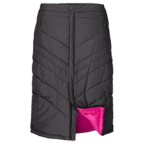 Jack Wolfskin Damen Rock Wattiert Long Iceguard Skirt