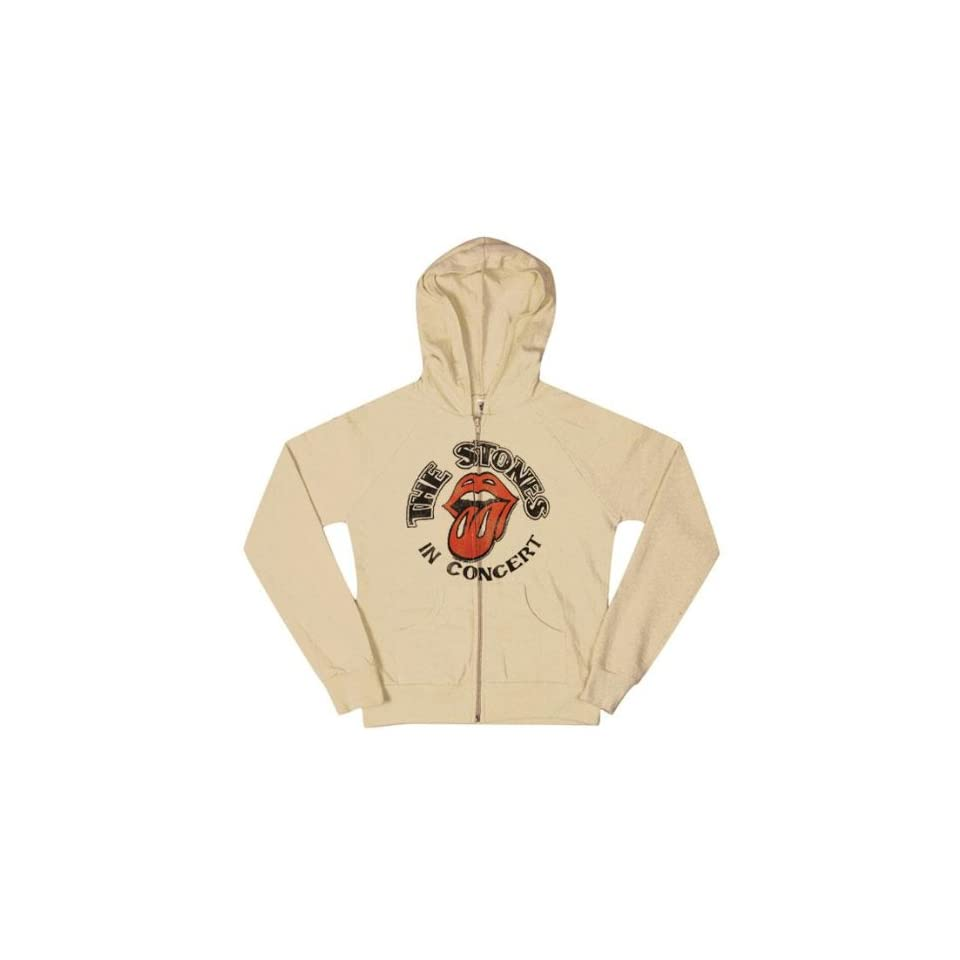 Rolling Stones   In Concert Ladies Hoodie   X Large