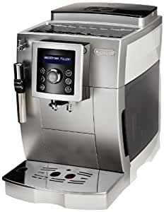 DeLonghi ECAM 23.420.SW Kaffee-Vollautomat (1.8 Liter, Dampfdüse) silber/weiß