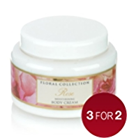 Floral Collection Rose Moisturising Body Cream 250ml