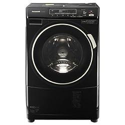 パナソニック 6.0kg ドラム式洗濯乾燥機【左開き】コモンブラックPanasonic プチドラム NIGHT COLORシリーズ ECO NAVI NA-VD210L-CK