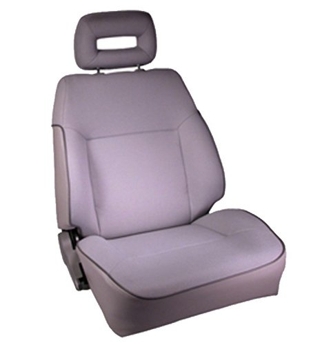 Rugged Ridge 53421.09 Gray Factory Replacement Front Passenger Seat with Recliner (Recliner Replacement Parts Bolt compare prices)
