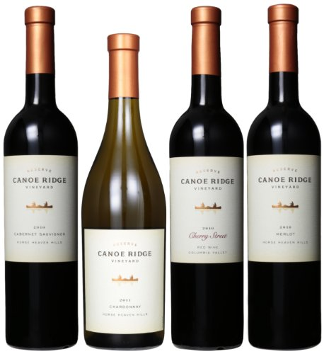 Canoe Ridge Reserve Selections Mixed Pack, 4 X 750 Ml