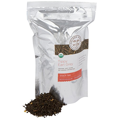 Tippy Earl Grey Tea - Organic - Loose Leaf - Bulk - Non GMO - 91 Servings
