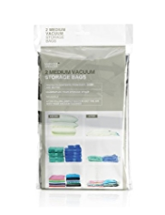 2 Pack Medium Vacuum Storage Bags