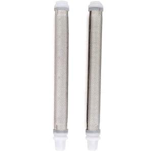 Wagner 0154842 Medium Mesh Airless Spray Gun Filters, 2-Pack