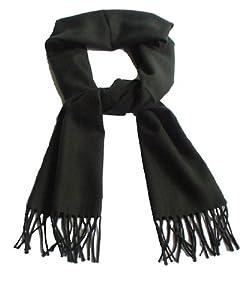 Pure Cashmere Scarf - Black