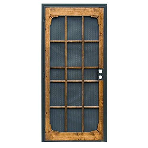 Metal Door Construction : Prime line products bz i wf woodguard steel
