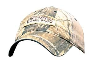 Primos Logo Cap with Mesh Back (Realtree AP Camo)