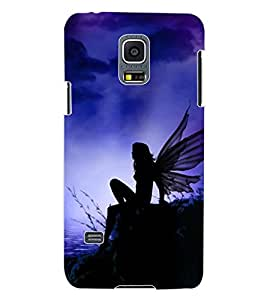ColourCraft Angel Design Back Case Cover for SAMSUNG GALAXY S5 MINI