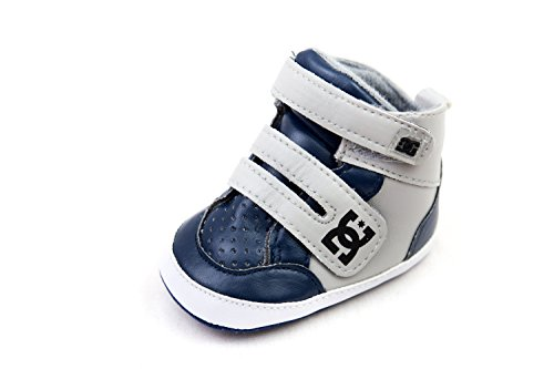 DC Shoe Lowtop Babies Crib Shoes 6-9 months BLUE