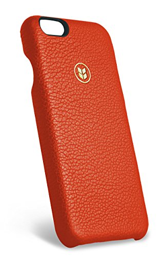 Italian Leather iPhone 6/6s Case, ALTUS Sanguine made by Barlii, an Open Face Luxury Top-Grain Italian Leather case