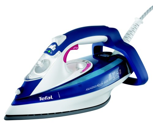 Tefal Aquaspeed FV5370G0 Anti-Scale Steam Iron, 2400 Watt, Deep Purple