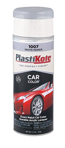 PlastiKote 1007 White Primer Automotive Touch-Up Paint - 11 oz. (2008 Toyota Yaris Paint compare prices)