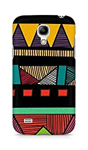 Amez designer printed 3d premium high quality back case cover for Samsung Galaxy S4 Mini (Pattern Color)
