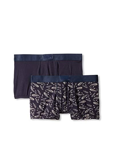 Levi's Men's Solid/Bandana 2Pack Trunk
