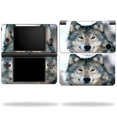 Protective Vinyl Skin Decal Cover for Nintendo DSi XL sticker skins Wolf