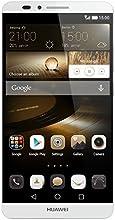 Huawei Ascend Mate 7 Smartphone débloqué 4G (Ecran : 6 pouces - 16 Go - Simple SIM - Android 4.4 KitKat) Argent