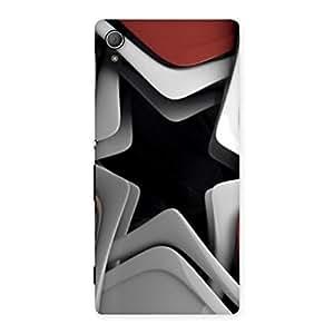 Impressive Techisa Multicolor Back Case Cover for Xperia Z4