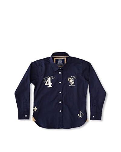 Valecuatro Camisa Junior Escudos Azul Marino