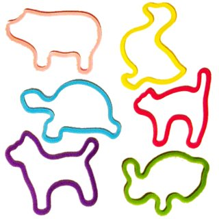 Silly Bandz Pets - 48 Pack