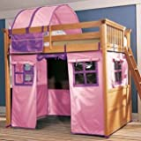 Lea Kids My Place Pink/Purple Tent for Full Loft Bed - 342-t465