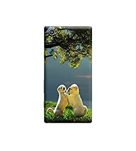 Ebby Premium Printed Back Case Cover With Full protection For Sony Xperia Z5 (Designer Case)