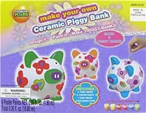 Make your own ceramic piggy bank design it for Create your own piggy bank