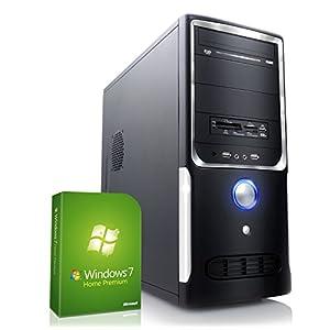 CSL Office PC Sprint H5832 inkl. Windows 7 - AMD FX-6300 6x 3500MHz, 8GB RAM, 1000GB HDD, Radeon R5 230, DVD, USB 3.0