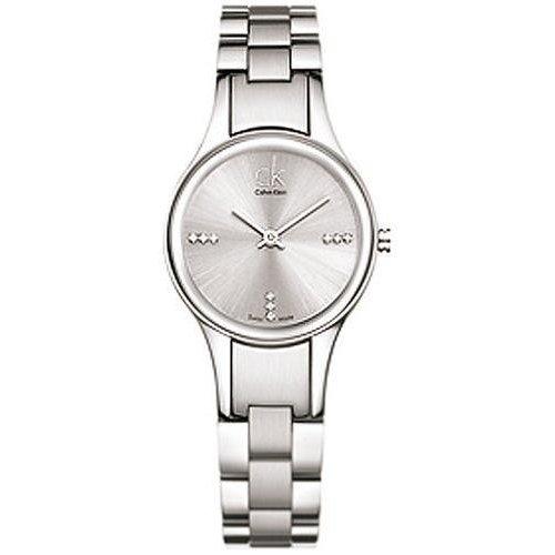 Calvin Klein Swiss Crystal Silver Ladies Watch - K4323120