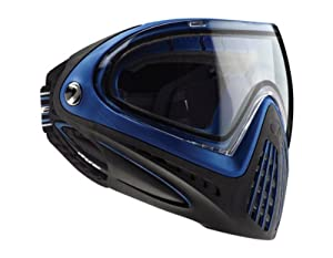 Dye I4 Paintball Goggle - Blue with Thermal Clear Lens