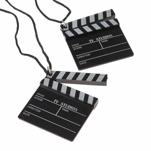 Hollywood Clapboard Necklaces