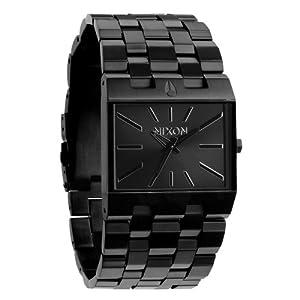 Nixon Men's Ticket Black Three-hand watch #A085001