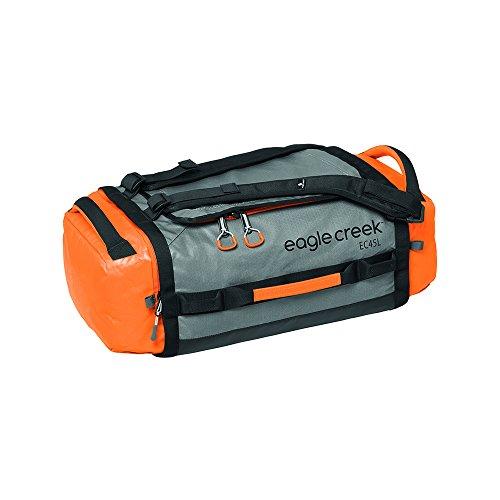eagle creek EAC 20583 174 Cargo Hauler Duffel 45 L S OR/GY Borsone, Sintetico, Arancione, 55 cm
