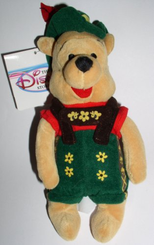 October Fest Pooh - Disney Mini Bean Bag Plush - 1