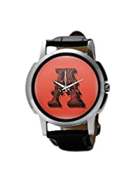 PosterGuy Alphabet A Typography Men's Wrist Watches