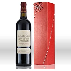 Saint Emilion Chateau Fonrazade red wine gift pack