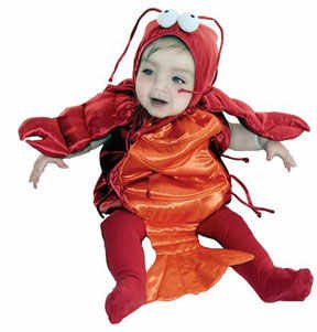 Little Lobster Infant/Baby Costume *Limited Edition*