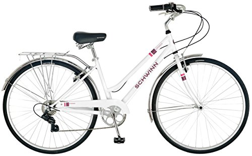Schwinn Wayfarer 700c Women's Bicycle, White, 16