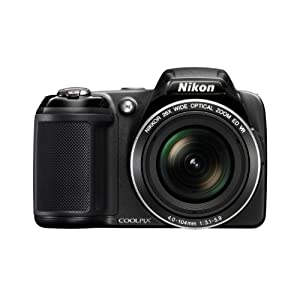 Nikon COOLPIX L810 16.1 MP Digital Camera with 26x Zoom NIKKOR ED Glass Lens and 3-inch LCD ($199.00)